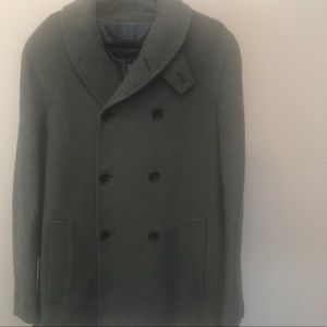 Marc By, Marc Jacobs Olive Green Pea Coat (L)